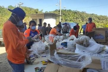 Empresas de seguridad privada ponen a disposición vehículos para la entrega de alimentos a familias pobres