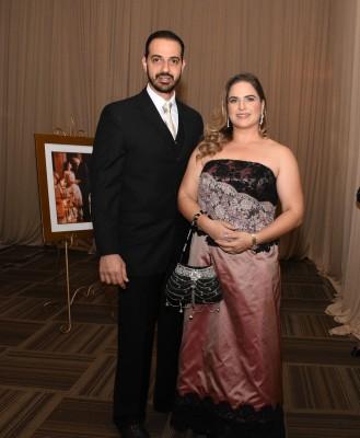 Ibrahim y Stephanie Musleh