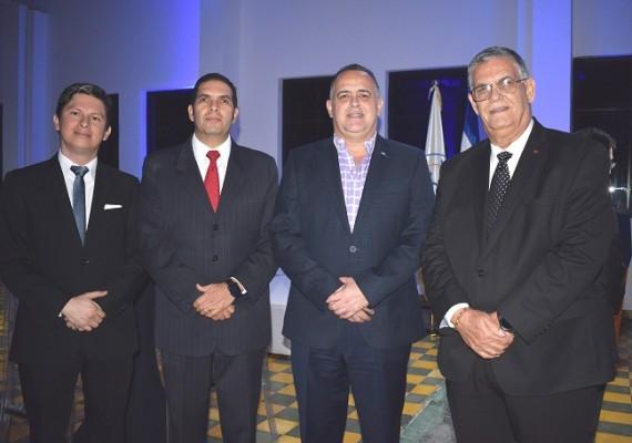 Jairo Mejía, Sergio Guevara, Armando Calidonio y Juan Bendeck.