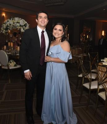 José Matay y Andrea Romero