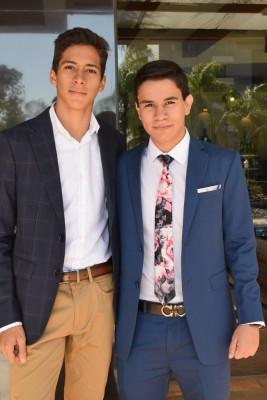 José Naveda y Sebastián Aguilar.