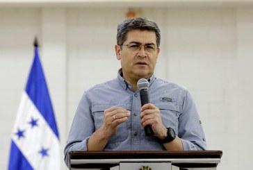 Hernández hace llamado a la unidad de todos los hondureños para enfrentar el coronavirus