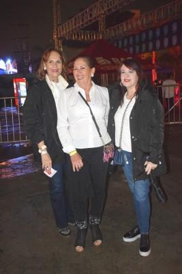 Juana Selman, Ruth Fasquelle y Johanna Rosenthal.