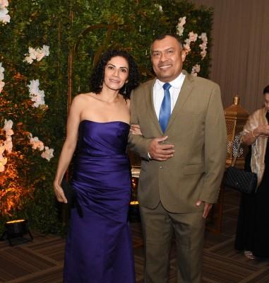 Lorena González y Héctor Maldonado