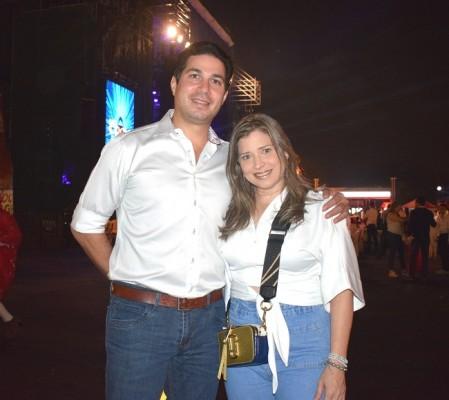 Luis Canahuati y Melissa Villegas.