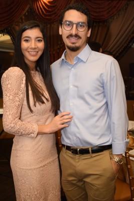 María Fernanda Handal y David Yuja.