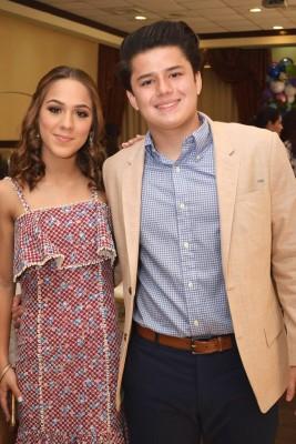 Marcela Alvarado y Manuel Chiang.