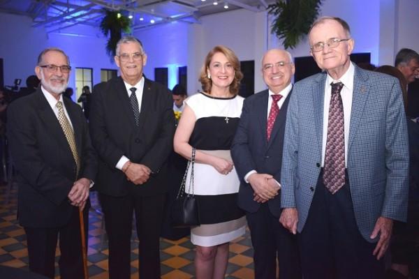 Marco Rietti, Juan Bendeck, Samia Jarufe, Raymond Maalouf y Gregory Werner
