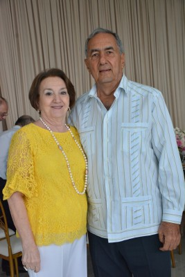 Maria Elena y Emin Abufele