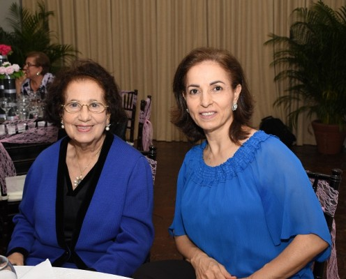Marlene Kamar y Emy Handal