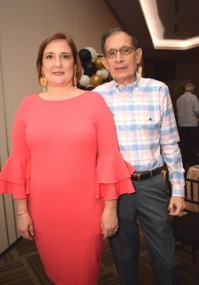 Martha y Diego Zerón.