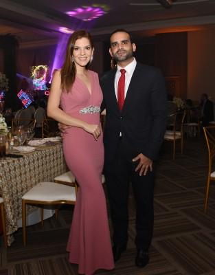Melissa Valeriano y Fernando Quezada