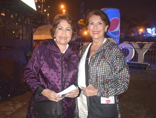 Nena Díaz Lobo y Miriam Millares.