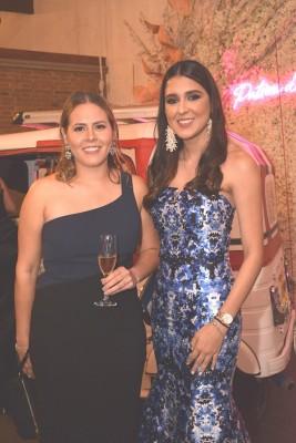 Paulina Gutiérrez y Claudia Fernández.