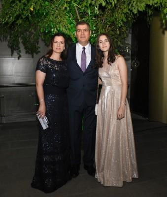 Rania Kharoufe, Elías Kharoufe y Eliana Kharoufe
