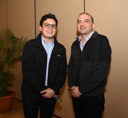 Rodolfo Bueso y Fuad Handal