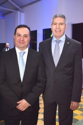 Rudy Monterroso y Gilberto Limón