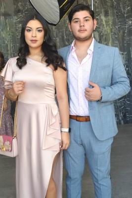 Samantha Castellanos y Miguel Moncayo.
