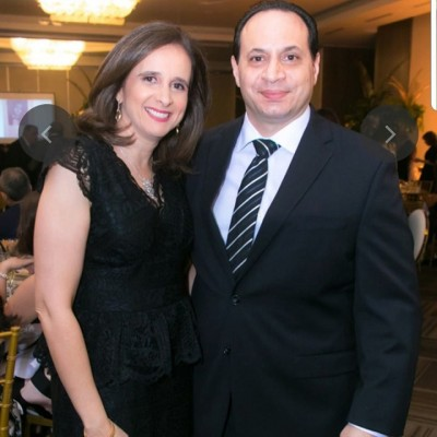 Siham y Eduardo Larach