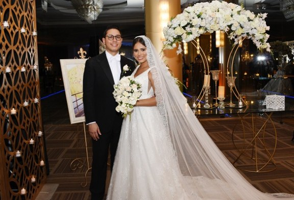 """Love on the weekend"" en la boda de Valerie Fajardo y Carlos Rivera"