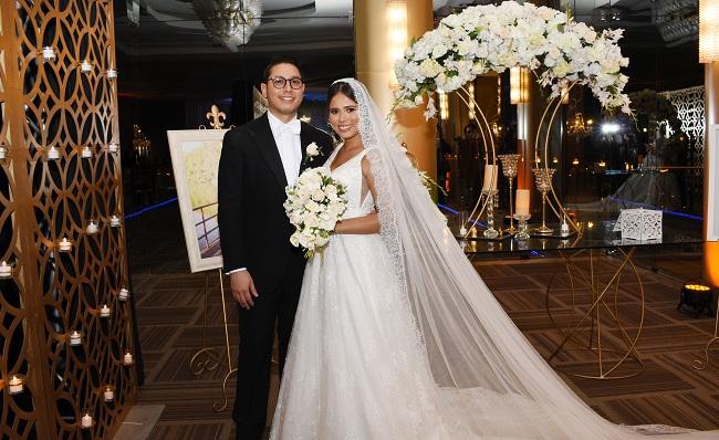 """""""Love on the weekend"""" en la boda de Valerie Fajardo y Carlos Rivera"""
