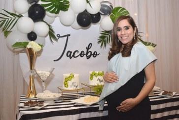 Vanessa Nazrala en la espera de su pequeño Jacobo