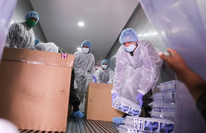 FAH distribuye a siete países de la región pruebas rápidas para detectar coronavirus donadas por el BCIE