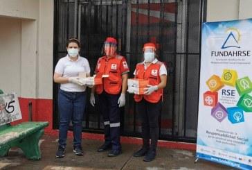 FUNDAHRSE a través del Comité de Emergencia Covid-19 realiza donación a la Cruz Roja en SPS