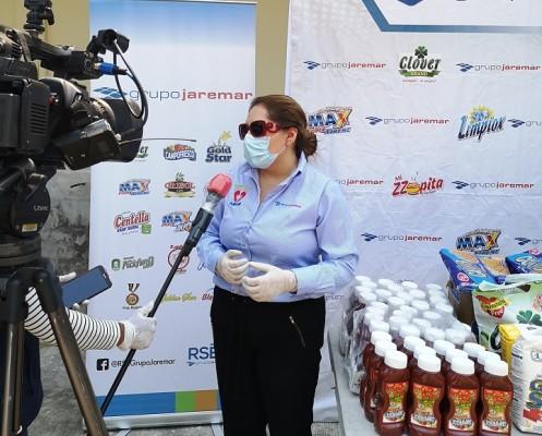 Grupo Jaremar dona un millón de lempiras en productos a hospitales para la lucha contra el COVID-19