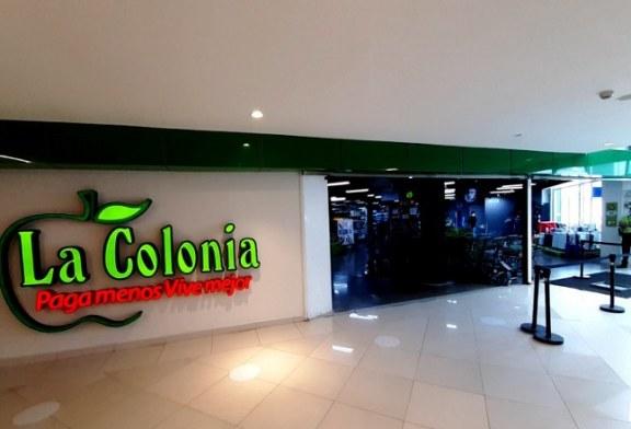 La Colonia en Mega Mall tiene abierta sus puertas para abastecer a las familias sampedranas