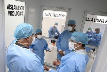 Realiza las primeras pruebas en el Laboratorio Nacional de Virología de San Pedro Sula