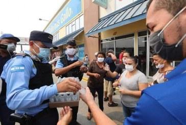 Inician entrega masiva de mascarillas en San Pedro Sula