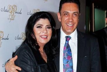 Victoria Ruffo se encuentra aislada después que su esposo diera positivo a coronavirus
