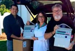 Plutarco Castellanos logra donación de 34 ventiladores para pacientes graves con Covid-19 en Honduras