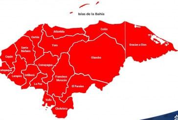 Sinager mantiene la alerta roja y el toque de queda para 18 departamentos del país hasta el domingo 31 de mayo
