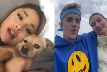 """Emotiva canción benéfica: Ariana Grande y Justin Bieber unen sus voces en """"Stuck With U"""" para recaudar fondos"""