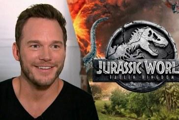 El actor Chris Pratt está sorteando la oportunidad de aparecer en la película 'Jurassic World'