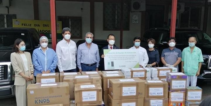 Corea del Sur dona equipo valorado en 100.000 dólares al Hospital Leonardo Martínez
