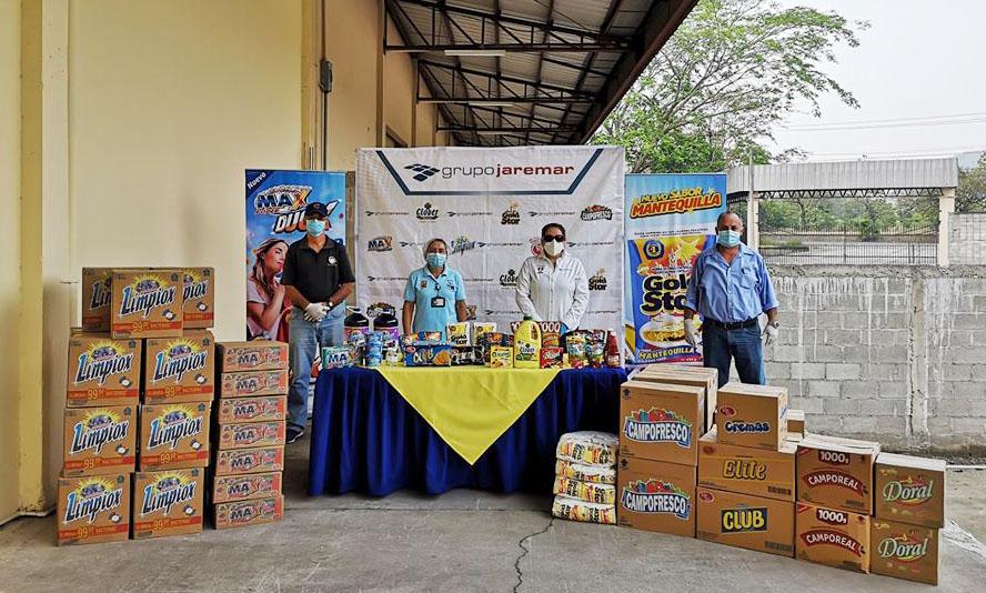 Grupo Jaremar entrega donación por 420.000 lempiras en productos a 13 asilos de ancianos