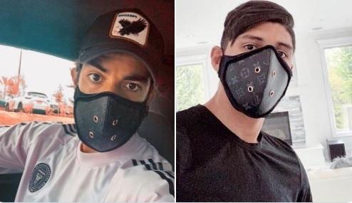 Los futbolistas Pulido y Pizarro causan polémica en redes sociales por los costosos cubrebocas Louis Vuitton