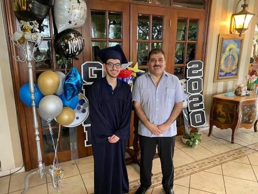 Muchas felicidades a Mario Faraj Jr. por su éxito profesional en la imagen con su tío Jorge Faraj