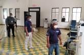 Acondicionaran salón Cultural de La Plaza de Las Banderas de SPS para atender pacientes con Coronavirus