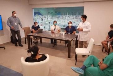 Autoridades sanitarias ultiman detalles de Unidad Estabilizadora para Pacientes con COVID19 en SPS