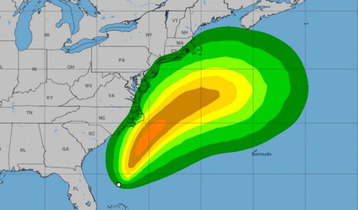 Alerta por Arthur la primera tormenta tropical en el Atlántico que se formó frente a la costa de Florida