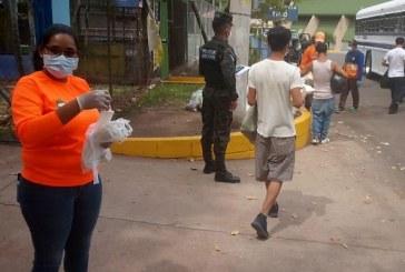 Migrantes retornados vuelven a sus comunidades de origen tras cumplir cuarentena