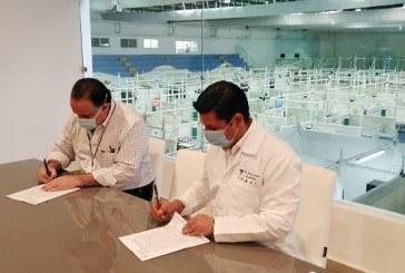 Mañana inicia traslado de pacientes a Unidad Estabilizadora para Pacientes con Covid-19 en el Gimnasio Municipal