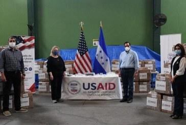Gobierno de los EEUU dona ventiladores para apoyar a Honduras en la lucha contra la COVID-19