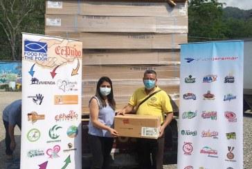 Grupo Jaremar con su plan de acción solidario beneficia a 530 personas en riesgo social