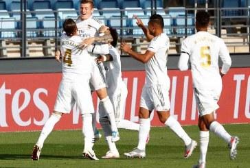 Real Madrid regresó con el pie derecho al vencer 3-1 a Eibar