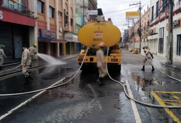 Inician operativo de limpieza e higienización de la tercera avenida de San Pedro Sula